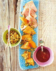 Süsskartoffeln mit Kassler - Gerichte mit Süßkartoffeln - [LIVING AT HOME]