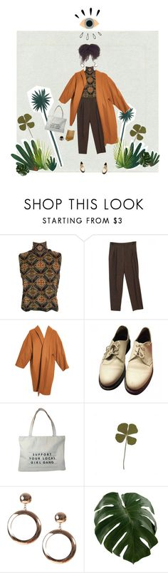 """""""all seeing eye"""" by medi-ocre ❤ liked on Polyvore featuring Laura Biagiotti, YSL RIVE GAUCHE, Dr. Martens and Old Navy"""