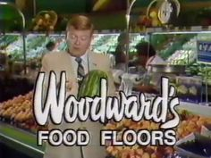 A 1985 television ad for the departed department store chain's grocery division. Vintage Makeup Ads, Good Ole, Inner Child, Vancouver Island, Tv Commercials, My Memory, Best Memories, Vintage Signs, Calgary