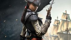 View an image titled 'Aveline Promo Art' in our Assassin's Creed IV: Black Flag art gallery featuring official character designs, concept art, and promo pictures. The Assassin, Female Assassin, Black Characters, Video Game Characters, Female Characters, Cosplay Characters, Fantasy Characters, Assassin's Creed 3, Character Portraits