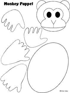 Printable Animal Masks: Monkey Mask printable-monkey-mask