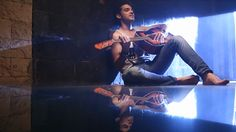 Parth Samthaan... keep looking this hot and kill all the girls... and as Manik here, he was singing a romantic song... god!!