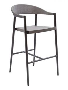 Commercial Bar Stool with a Rope Back - Florida Seating. Get a Beachy Feel on Your Outdoor Patio with the Commercial Bar Stool with a Rope Back from Florida Seating. Aluminum Frame, Rope Back Design. Commercial Bar Stools, Vintage Stool, Florida, Coat Stands, Restaurant Furniture, Tap Room, Foot Rest, Outdoor Chairs, Outdoor Furniture