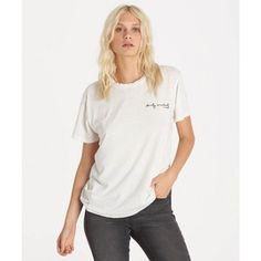 BILLABONG TOPS WARHOLSURF THE ANSWER TEE