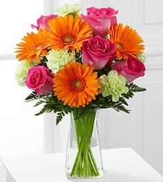 The FTD® Pure Bliss™ Bouquet - VASE INCLUDED- Deluxe