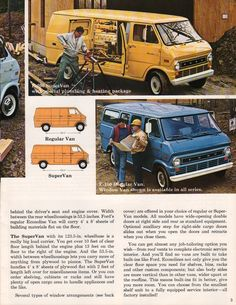 1971 Econoline Ford Truck Sales Brochure