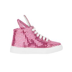 Minna Parikka Mini Bunny Sneaks pink-silver stars leather Silver Stars, Bunny, Hats, Mini, Sneakers, Leather, Fashion, Tennis, Moda