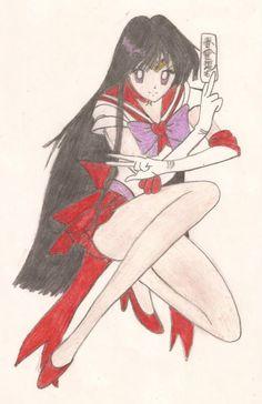 ~ Pretty Soldier Sailor Moon (美少女戦士セーラームーン) ~  ¬ Hino Rei (火野 レイ) / Sailor Mars (セーラーマーズ)
