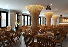HDHOUSE: Thiết kế nội thất quán Cafe, Nhà hàng, Karaoke chuyên nghiệp với phong cách hiện đại, ấn tượng...cafe th1