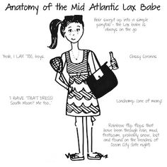 "Anatomy of the ""Lax Babe"""