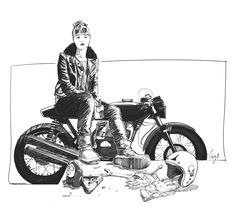 #caferacer #illustration