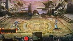 Mythborne is a Free Browser-Based Role Playing MMO Game MMORPG with good quality 2.5D animated graphics