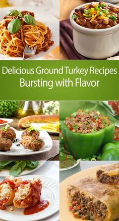Delicious Ground Turkey Recipes Bursting with Flavor