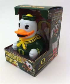 The Fighting Duck OSU Mascot Rubber Duck: Limited Edition Oregon State University Celebriduck by CelebriDucks. $14.89. CelebriDucks presents: The Oregon State Fighting Duck, complete with team spirit molded right in to this original and collectible piece of Toy Art. Although 'rubber duck' is the common term used today for the familiar bath ducky, CelebriDucks are made from safe phthalate free and lead free vinyl. Puddles stands about 4.25 inches tall and comes packa...