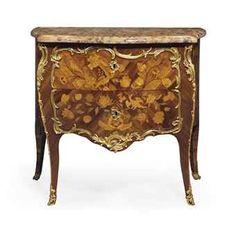 commode en laque de chine vernis parisien et monture de bronze dor d 39 poque louis xv. Black Bedroom Furniture Sets. Home Design Ideas