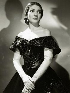 Maria Callas   One of the most renowned Opera singers of the 20th century