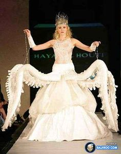 Is this supposed to be URSULA's #WeddingGown? #Wedding