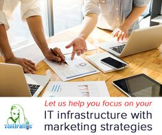 Let us help you focus on your IT infrastructure with #Marketing #strategies that work as hard as you do. http://bit.ly/2hO7KHI  #digital