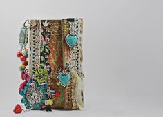 Paper bag mini album using Kaisercraft Kaleidoscope papers--the wonderful Angela Venable