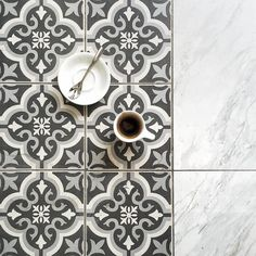 #coffee Espresso have a greet and meet with tiles. Good afternoon guys