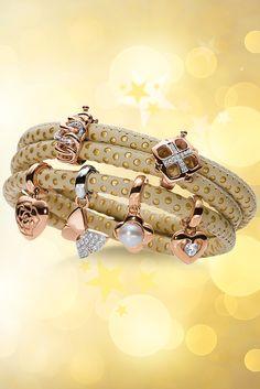 Viventy Armbänder aus feinstem italienischen Leder in modernen Farben und mit Edelstahl-Magnetschließen. Kombiniert mit modischen Charms entstehen individuelle Schmuck-Armbänder mit ihrer ganz persönlichen Note.