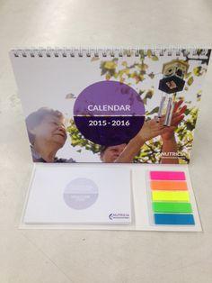 wire-O calendar with #stickynotes @fleQs we make them