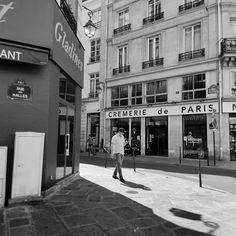 Paris Street Photography, Paris Print, Paris Photography, Black And White, Cremerie Print, France Photography, France Print, City Photo France Photography, Street Photography, London Photos, Paris Street, Rue, Professional Photographer, City Photo, Framed Prints, Black And White