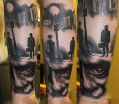 Horror Tattoo.