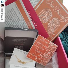 """lovedandblessed on Instagram: """"#Repost @cocoluv35 ・・・ My favorite time of the month is unboxing my lovedandblessed box!!! I can't imagine my life without my friends the Lord has bless me richly with wonderful friends. Thanks @passhopeon for another beautiful lovedandblessed experience!!!!! #lovedandblessed #subscriptionboxlover #inspiration #encouragement"""""""