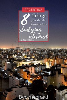 Planning your semester studying abroad, and thinking about Argentina? Check out my insider tips on been an exchange student in Argentina. Backpacking Europe, Europe Travel Tips, Packing Tips For Travel, Travel Deals, European Travel, Budget Travel, Europe Packing, Traveling Europe, Packing Lists