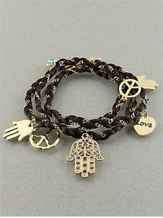 Lucky Multi Function Charm Necklace Bracelet
