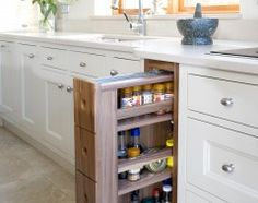 Smart small kitchen storage idea