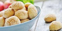 Möra citronkakor med kanelsocker - Recept - Kungsörnen