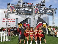 First Appearance for 2015 Cheerleaders #AZCC #AZCardinals