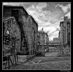 Part of a series of industrial shots taken in The Little Germany area of Bradford. Yorkshire England, West Yorkshire, Old Pictures, Old Photos, Germany Area, Bradford City, Old Apartments, Industrial Architecture, Northern England