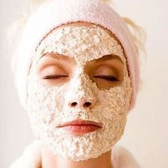 Oatmeal Face Mask: One of the best remedies for Acne.- Oatmeal Face Mask: One of the best remedies for Acne. Oatmeal Face Mask: One of the best remedies for Acne. Homemade Facial Mask, Homemade Facials, Homemade Beauty, Diy Beauty, Beauty Skin, Beauty Hacks, Homemade Mascara, Homemade Masks, Oatmeal Face Mask