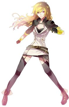 A transparent Yang and a transparent Blake! I'm currently using these for my website. (I'm thinking of making transparent stock images for everyone to use freely on their blogs… but… time…)