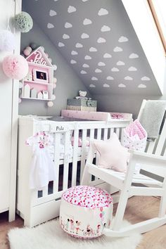 Girl Room, Baby Room, Girl Nursery Themes, Welcome To My House, Baby Girl Blankets, Nursery Inspiration, Trendy Bedroom, Kids And Parenting, Bedding Sets