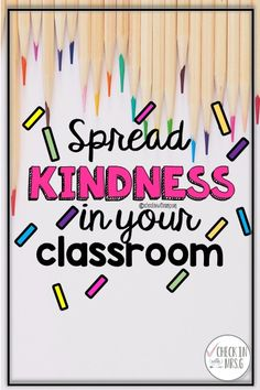 Kindness is a community service at school. Teach your students to spread kindness at school by building a classroom kindness kit! Make an impact on the culture of your school.  . . #kindnessintheclassroom #bekind #spreadkindnessatschool