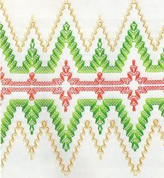 Discover thousands of images about Resultado de imagem para vagonite passo a passo Embroidery Stitches Tutorial, Cross Stitch Embroidery, Embroidery Patterns, Hand Embroidery, Cross Stitch Patterns, Needlepoint Patterns, Quilt Patterns, Bordado Tipo Chicken Scratch, Huck Towels