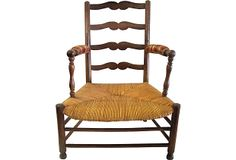 19th-C. Oak Grand-Mere Fauteuil on OneKingsLane.com 26lx21wx37h - 13 1800/659
