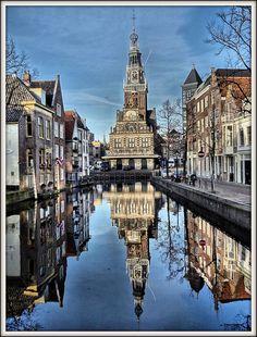 Centrum Alkmaar, Nederland