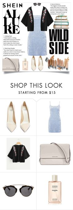 """""""SHEIN contest"""" by maidaa12 ❤ liked on Polyvore featuring Francesco Russo, Olsen, Nobody's Child, Michael Kors and Christian Dior"""