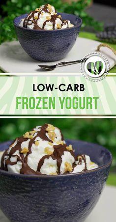 (Werbung) Der Frozen Yogurt ist lecker, Low Carb und glutenfrei. Zudem ist es auch noch zuckerfrei.