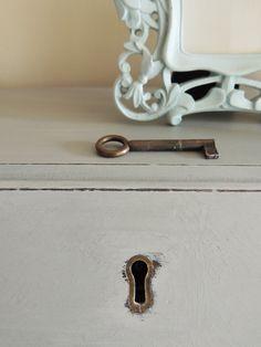 Painted Furniture, Lock and Key  ©OliviaRoseInteriors