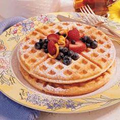 Waffles From Scratch Recipe