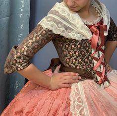 Regional, Tops, Women, Fashion, Female Clothing, 18th Century, Aprons, Baroque, Stylish Dresses