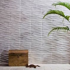 Carved stone tiles add an amazing texture feature which is perfect as an internal or external feature wall or cladding. This would also look great on the front panel of a kitchen island.