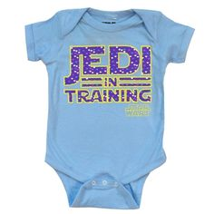 #starwars jedi in training hearts licensed #baby infant snapsuit from $19.95