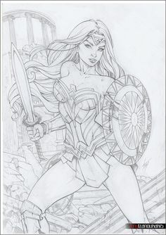 WONDER WOMAN by tony-tzanoukakis.deviantart.com on @DeviantArt